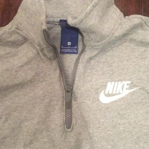 Nike Shirts & Tops - Boys Nike sz XL Gray 1/4 Zip